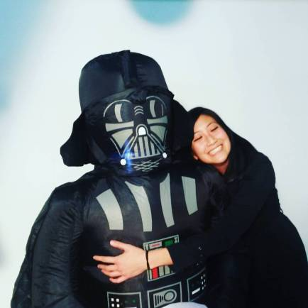 darth vader and me