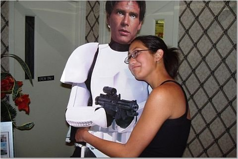 han solo and me